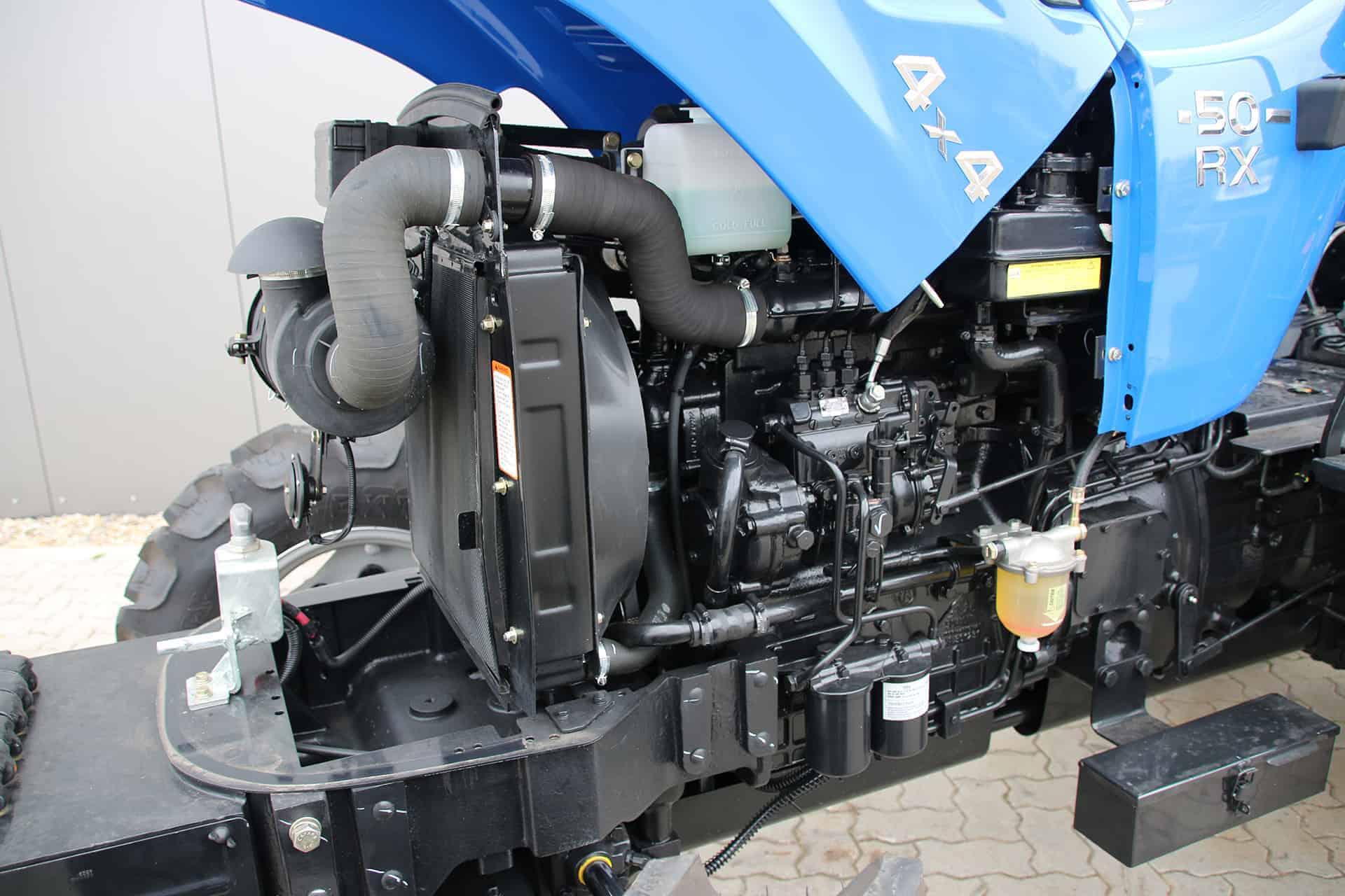 Vapaasti hengittävä Solis dieselmoottori 50hp/190nm